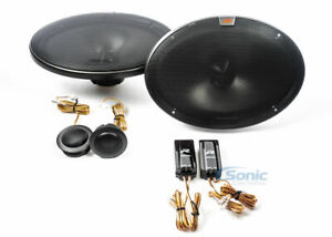 Alpine R-S69C.2 Series 6x9 inch Component 2-Way Car Stereo Speaker System Pair