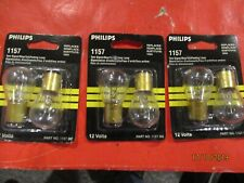 1157--PHILIPS--LOT  OF- 6---CLEAR Tail Light Bulb REPLACE 1034