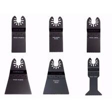 SHARK BLADES COMBO Multitool Blades Quick Release Bosch Fein Dewalt Stanley x 6