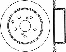 Disc Brake Rotor-Sport Drilled/Slotted Disc Rear Right fits 1989 Toyota Cressida