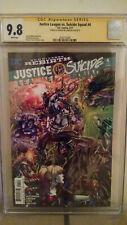 Justice League VS. Suicide Squad #4 CGC 9.8 AUTOGRAPHED by JOSHUA WILLIAMSON