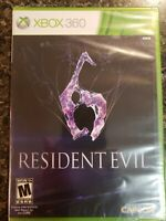 Resident Evil 6 (Microsoft Xbox 360, 2012)