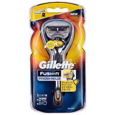 [Gillette] Fusion ProShield Razor with FlexBall, Yellow - 1 Razor + 2 Blade
