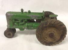 Vintage Slik Green Farm Tractor Cast