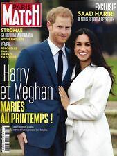 PARIS MATCH n°3576 30/11/2017 Harry & Meghan/ Stromae/ Yémen/ Hariri/ K.Jenner