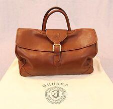 Ghurka Leather Tilbury III no. 128 Travel Bag Rare Find