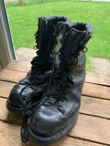 Matterhorn Vibram soles Goretex Lined Special Forces Combat Boots BLACK USED 7.5