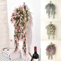 Artificial Hanging Flower Plants Fake Vine Willow Rattan Garden Wedding Decor