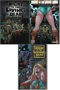 NIGHT OF THE LIVING DEAD Vol 1, 2, 3 set TP TPB $64.97srp Avatar 25% off NEW