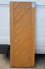 "Oak Interior Door XL Joinery Damaged Clearance 30"""