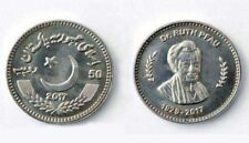 "Pakistan 2018 Rs 50 Coin ""Dr Ruth Katharina Martha Pfau Germany"" UNC"