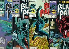 Black Panther #1 2 3 4 COMPLETE 1988 SERIES! VG 3.5 readers from 30 years ago!
