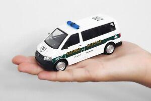 ISRAEL POLICE volkswagen transporter t5 MAGAV BORDER UNIT CAR MODEL SCALE 1:43
