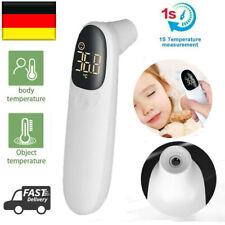 Digital Stirnthermometer Fieberthermometer Infrarot LCD Kontaktloses Baby DE