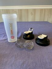 GNC Blender Bottle With 2 Lids & 2 Shaker Balls 20+ Oz