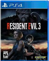 PS4 Resident Evil 3 Remake with SteelBook -ready To Ship
