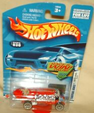 Hot Wheels 2002 First Editions #18 Torpedo Jones red,excellent card