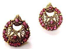 Golden Oxidized Earring Bali Jewelry Bollywood Ethnic Imitation Drop Dangle A148