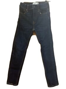Boys Abercrombie Fitch Kids Size 11 12 Jeans Super Skinny