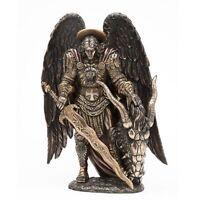 St. Michael Killing Dragon Statue Figurine New