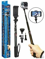 "Vidpro MP-20 Action Pole Monopod Stick up to 36"" for Digital Cameras, Gopro Hero"