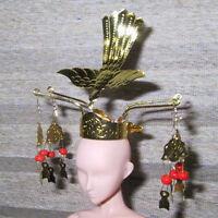 Japanese Doll Miniature CROWN Kanzashi Hina Ningyo #7 REGULAR PRICE $25