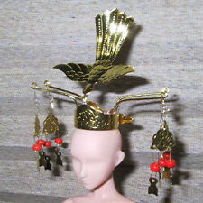 Japanese Doll Miniature CROWN Kanzashi Hina Ningyo #7 REGULAR PRICE $25