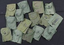 GENUINE US ARMY LC1 FIRST AID BELT / WEBBING POUCH with US STAMP