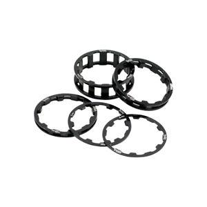 """BOX Zero stem spacer kit, 1-1/8"""" - black"""