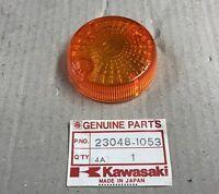 Plastica Vetro Freccia - Lens Signal Lamp - Kawasaki KLR650 NOS: 23048-1053
