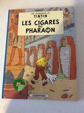 tintin les cigares du pharaon