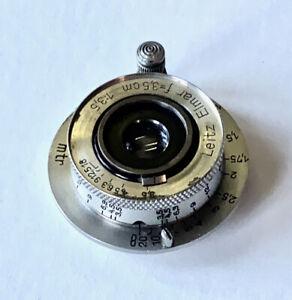 Leica 35mm Elmar f3.5 #182478 Nickel