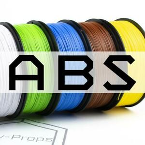 ABS 3D Printer Filament 200g & 1kg (1.75mm)