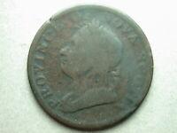 Canada 1832 Province Of Nova Scotia Half Penny Token