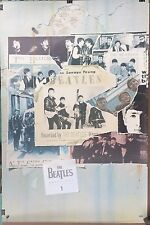 Beatles Anthology 1 Promo Poster Apple Capitol 20x30 NOS