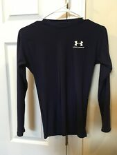 Under Armour Small Compression L/S Navy Blue Shirt, Vguc