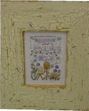 June: A Year In Stitches Cross Stitch Chart w/Button by Shepherd's Bush