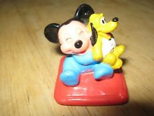 Disney Baby Mickey Mouse PVC with Pluto