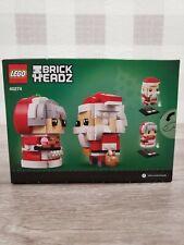 New Lego 40274 Mr. & Mrs. Claus BrickHeadz Christmas 341 pcs ✅
