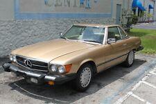 1982 MERCEDES BENZ W107 380SL HARDTOP CABRIO CHAMPAGNER / CREME  KLASSIKER
