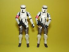Star Wars TBS The Black Series Walmart Scarif Stormtrooper Squad Leader Lot of 2