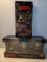 Jada Dungeons & Dragons Die Figurines Lot Of 2 Sets 9 Figures 💥 Brand New 💥