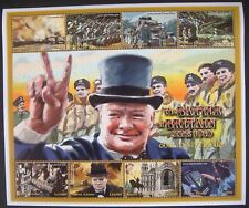 SIERRA LEONE WWII STAMPS SHEET 60th ANV BATTLE OF BRITAIN 2001 MNH CHURCHILL