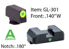 AMERIGLO Pro I Dot Green - GLOCK 17,19,22,23,24,26,27,33,34,35,37,38,39 #GL-301