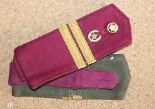 Epaulettes soldat Armée Soviétique URSS, fantassin  pour guimnastiorka n.4