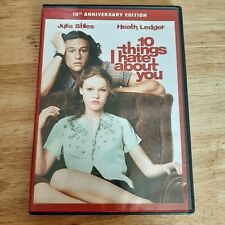 10 Things I Hate About You DVD English/French/Spanish