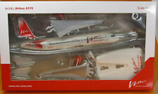 Herpa SNAP-fit: 611657 VIM Avia airbus a319-VQ-btk-scale 1/200