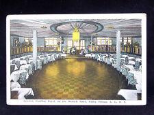 c.1920 Dance Floor Pavillon Royal Merrick Road Valley Stream LI NY post card