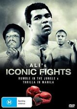Ali's Iconic Fights (DVD, 2013) Region 4
