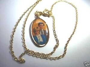 A COLLECTORS ITEM-PRINCESS DIANA OVAL SHAPED NECKLACE - BRAND NEW (37 years old)